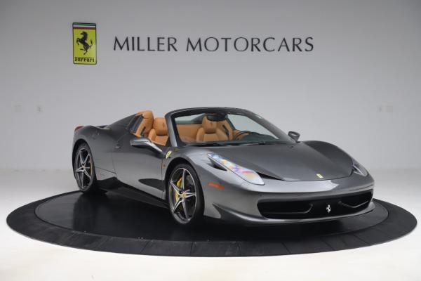 Used 2012 Ferrari 458 Spider for sale $176,900 at Aston Martin of Greenwich in Greenwich CT 06830 11