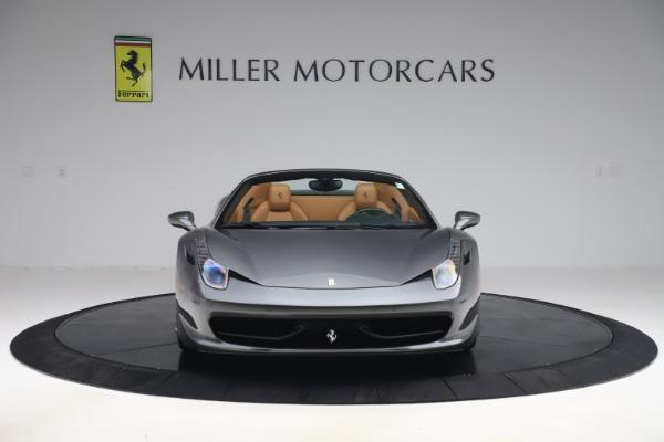 Used 2012 Ferrari 458 Spider for sale $176,900 at Aston Martin of Greenwich in Greenwich CT 06830 12