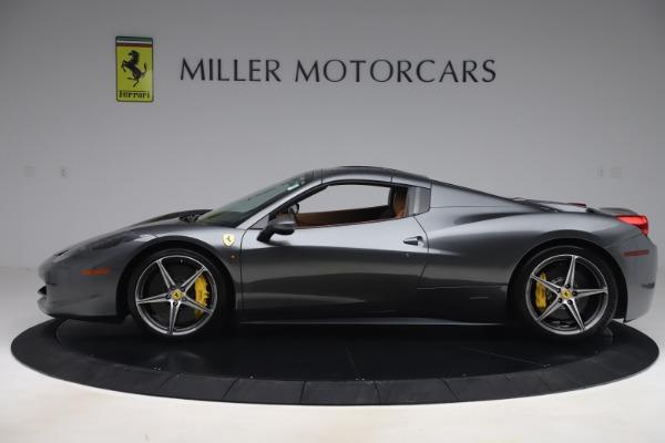 Used 2012 Ferrari 458 Spider for sale $176,900 at Aston Martin of Greenwich in Greenwich CT 06830 14