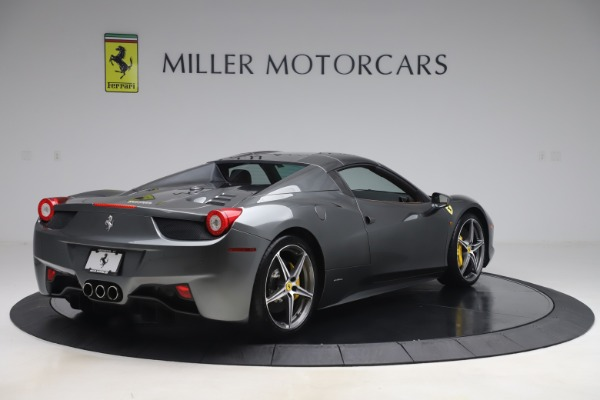 Used 2012 Ferrari 458 Spider for sale $176,900 at Aston Martin of Greenwich in Greenwich CT 06830 15
