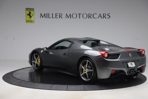 Used 2012 Ferrari 458 Spider for sale $176,900 at Aston Martin of Greenwich in Greenwich CT 06830 17