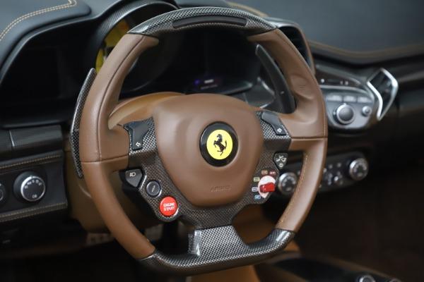 Used 2012 Ferrari 458 Spider for sale $176,900 at Aston Martin of Greenwich in Greenwich CT 06830 22