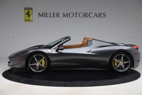 Used 2012 Ferrari 458 Spider for sale $176,900 at Aston Martin of Greenwich in Greenwich CT 06830 3