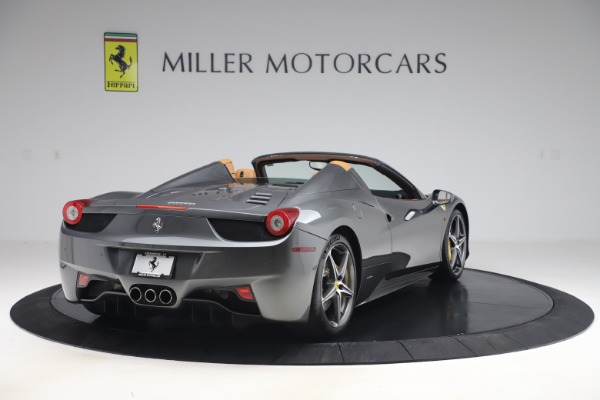 Used 2012 Ferrari 458 Spider for sale $176,900 at Aston Martin of Greenwich in Greenwich CT 06830 7