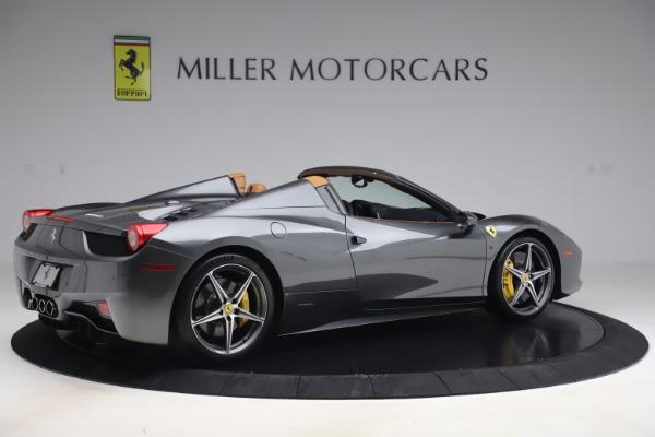Used 2012 Ferrari 458 Spider for sale $176,900 at Aston Martin of Greenwich in Greenwich CT 06830 8