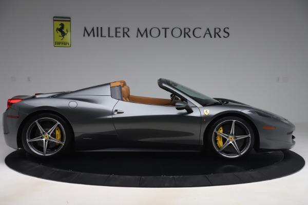 Used 2012 Ferrari 458 Spider for sale $176,900 at Aston Martin of Greenwich in Greenwich CT 06830 9