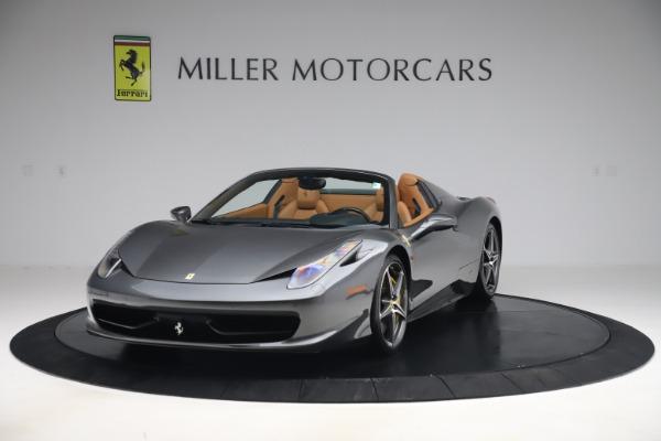Used 2012 Ferrari 458 Spider for sale $176,900 at Aston Martin of Greenwich in Greenwich CT 06830 1