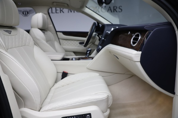 Used 2017 Bentley Bentayga W12 for sale $139,900 at Aston Martin of Greenwich in Greenwich CT 06830 24