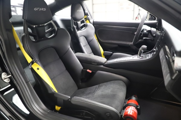 Used 2019 Porsche 911 GT3 RS for sale $199,900 at Aston Martin of Greenwich in Greenwich CT 06830 19