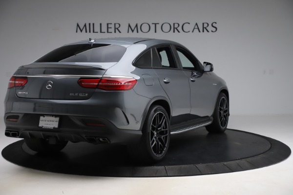 Used 2019 Mercedes-Benz GLE AMG GLE 63 S for sale $87,900 at Aston Martin of Greenwich in Greenwich CT 06830 7