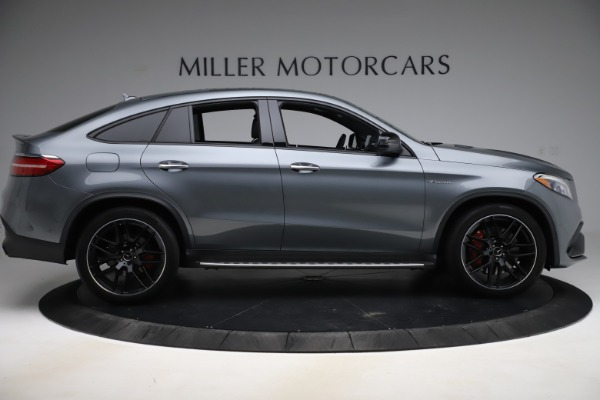 Used 2019 Mercedes-Benz GLE AMG GLE 63 S for sale $87,900 at Aston Martin of Greenwich in Greenwich CT 06830 9