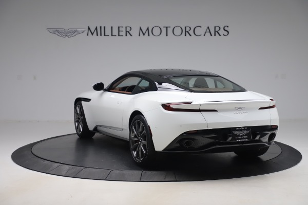 New 2020 Aston Martin DB11 V8 for sale $233,266 at Aston Martin of Greenwich in Greenwich CT 06830 4