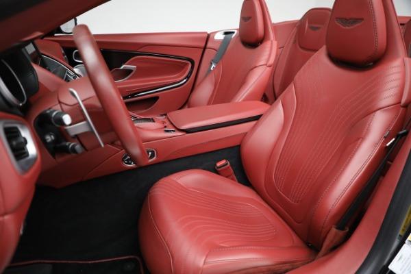 New 2020 Aston Martin DB11 Volante Convertible for sale $247,386 at Aston Martin of Greenwich in Greenwich CT 06830 21