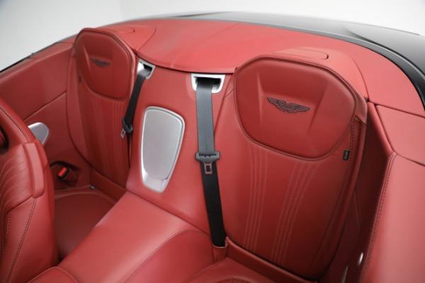 New 2020 Aston Martin DB11 Volante Convertible for sale $247,386 at Aston Martin of Greenwich in Greenwich CT 06830 22