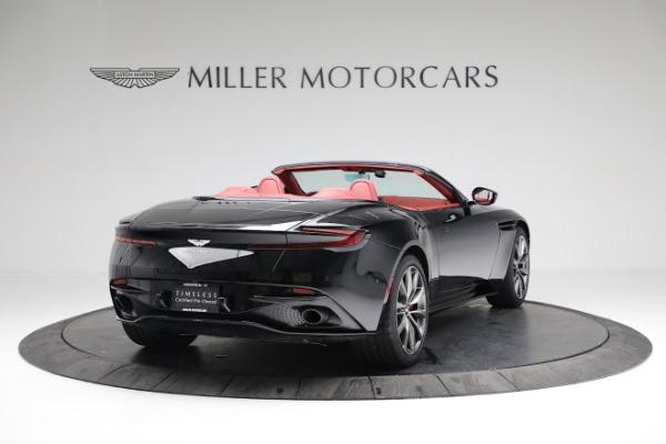 New 2020 Aston Martin DB11 Volante Convertible for sale $247,386 at Aston Martin of Greenwich in Greenwich CT 06830 6