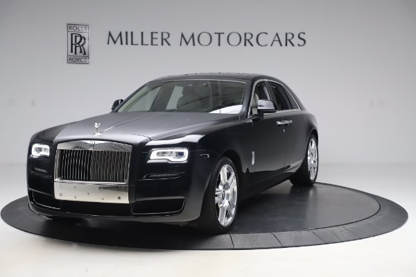 Used 2015 Rolls-Royce Ghost Base for sale Call for price at Aston Martin of Greenwich in Greenwich CT 06830 1
