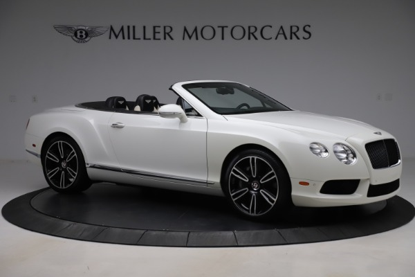Used 2014 Bentley Continental GTC V8 for sale $114,900 at Aston Martin of Greenwich in Greenwich CT 06830 10