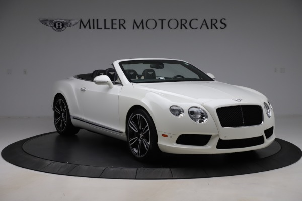 Used 2014 Bentley Continental GTC V8 for sale $114,900 at Aston Martin of Greenwich in Greenwich CT 06830 11