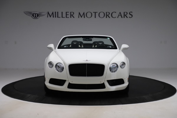 Used 2014 Bentley Continental GTC V8 for sale $114,900 at Aston Martin of Greenwich in Greenwich CT 06830 12