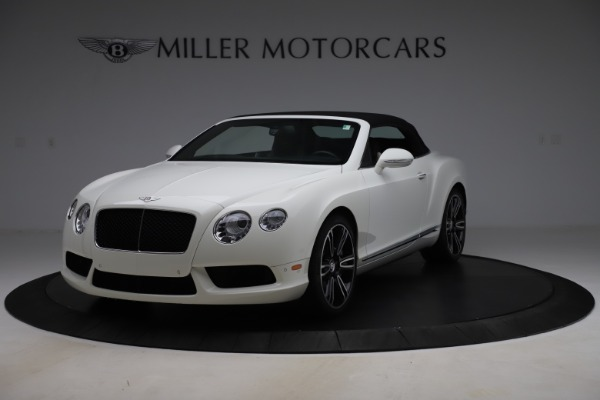 Used 2014 Bentley Continental GTC V8 for sale $114,900 at Aston Martin of Greenwich in Greenwich CT 06830 13