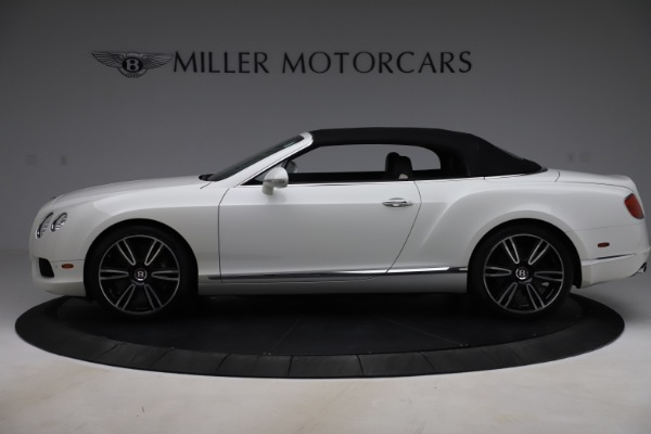 Used 2014 Bentley Continental GTC V8 for sale $114,900 at Aston Martin of Greenwich in Greenwich CT 06830 14