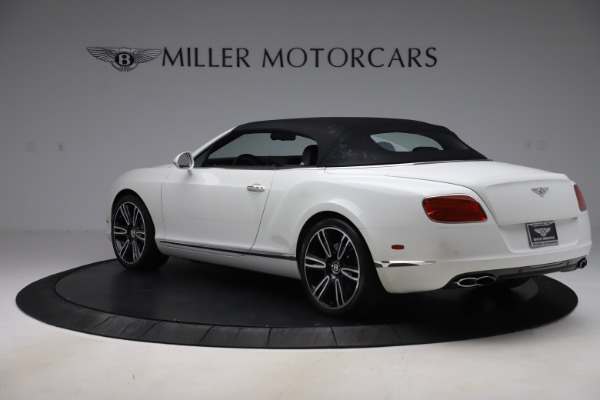 Used 2014 Bentley Continental GTC V8 for sale $114,900 at Aston Martin of Greenwich in Greenwich CT 06830 15