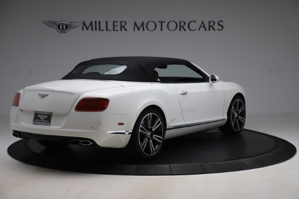 Used 2014 Bentley Continental GTC V8 for sale $114,900 at Aston Martin of Greenwich in Greenwich CT 06830 16