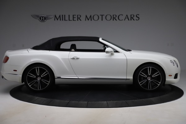 Used 2014 Bentley Continental GTC V8 for sale $114,900 at Aston Martin of Greenwich in Greenwich CT 06830 17