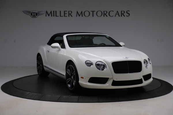 Used 2014 Bentley Continental GTC V8 for sale $114,900 at Aston Martin of Greenwich in Greenwich CT 06830 18