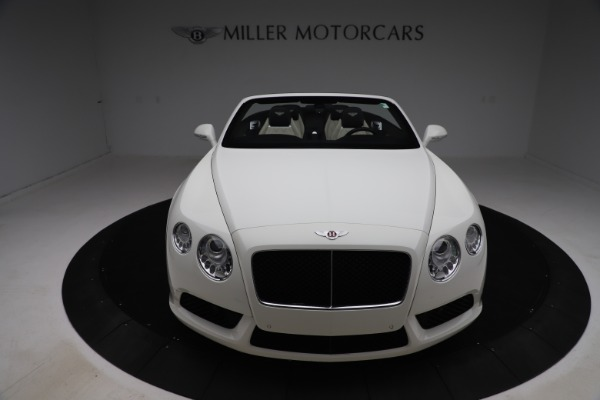 Used 2014 Bentley Continental GTC V8 for sale $114,900 at Aston Martin of Greenwich in Greenwich CT 06830 19