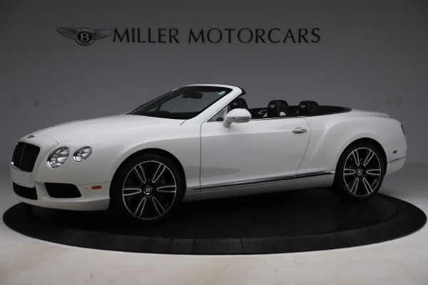 Used 2014 Bentley Continental GTC V8 for sale $114,900 at Aston Martin of Greenwich in Greenwich CT 06830 2