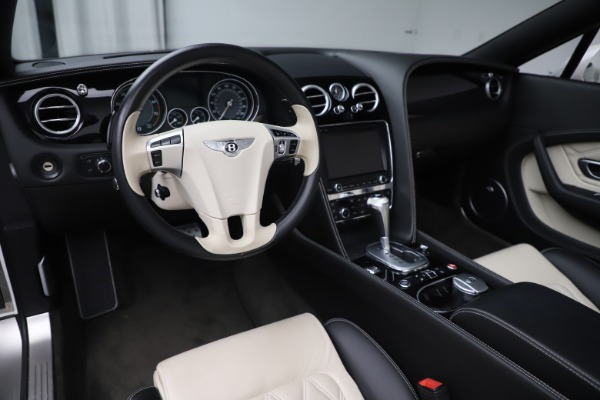 Used 2014 Bentley Continental GTC V8 for sale $114,900 at Aston Martin of Greenwich in Greenwich CT 06830 25