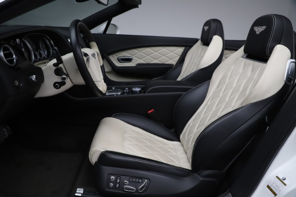 Used 2014 Bentley Continental GTC V8 for sale $114,900 at Aston Martin of Greenwich in Greenwich CT 06830 27