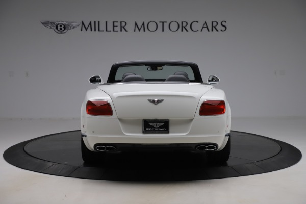 Used 2014 Bentley Continental GTC V8 for sale $114,900 at Aston Martin of Greenwich in Greenwich CT 06830 6