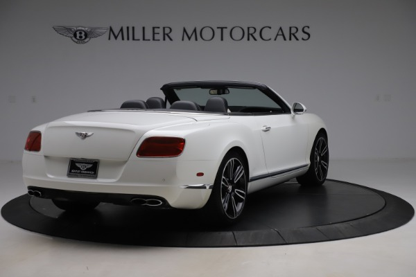 Used 2014 Bentley Continental GTC V8 for sale $114,900 at Aston Martin of Greenwich in Greenwich CT 06830 7