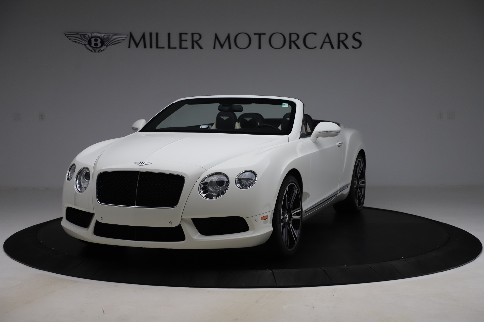 Used 2014 Bentley Continental GTC V8 for sale $114,900 at Aston Martin of Greenwich in Greenwich CT 06830 1