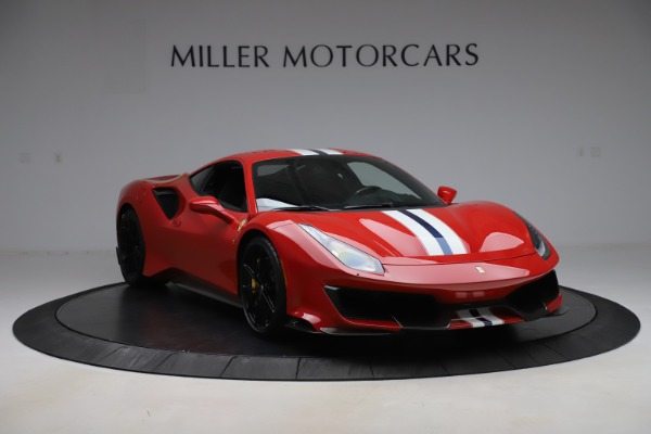 Used 2019 Ferrari 488 Pista for sale $451,900 at Aston Martin of Greenwich in Greenwich CT 06830 11