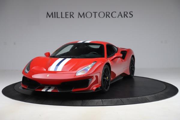 Used 2019 Ferrari 488 Pista for sale $451,900 at Aston Martin of Greenwich in Greenwich CT 06830 1