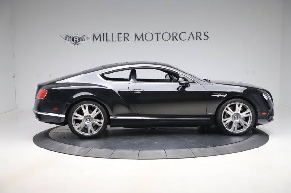 Used 2016 Bentley Continental GT W12 for sale $124,900 at Aston Martin of Greenwich in Greenwich CT 06830 9