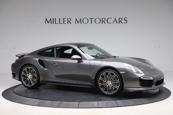 Used 2015 Porsche 911 Turbo for sale $123,900 at Aston Martin of Greenwich in Greenwich CT 06830 10