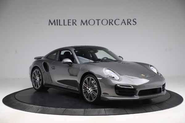 Used 2015 Porsche 911 Turbo for sale $123,900 at Aston Martin of Greenwich in Greenwich CT 06830 11