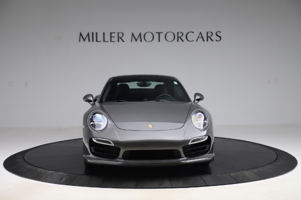 Used 2015 Porsche 911 Turbo for sale $123,900 at Aston Martin of Greenwich in Greenwich CT 06830 12