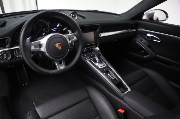 Used 2015 Porsche 911 Turbo for sale $123,900 at Aston Martin of Greenwich in Greenwich CT 06830 13