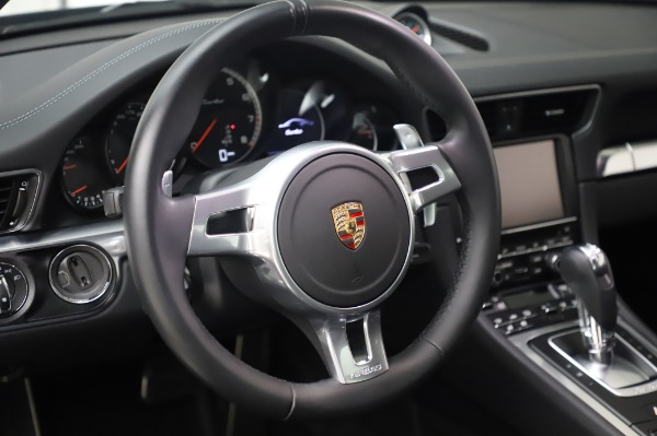 Used 2015 Porsche 911 Turbo for sale $123,900 at Aston Martin of Greenwich in Greenwich CT 06830 21