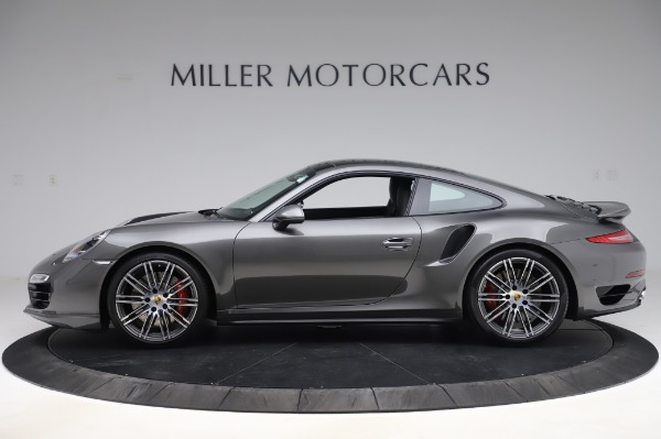 Used 2015 Porsche 911 Turbo for sale $123,900 at Aston Martin of Greenwich in Greenwich CT 06830 3