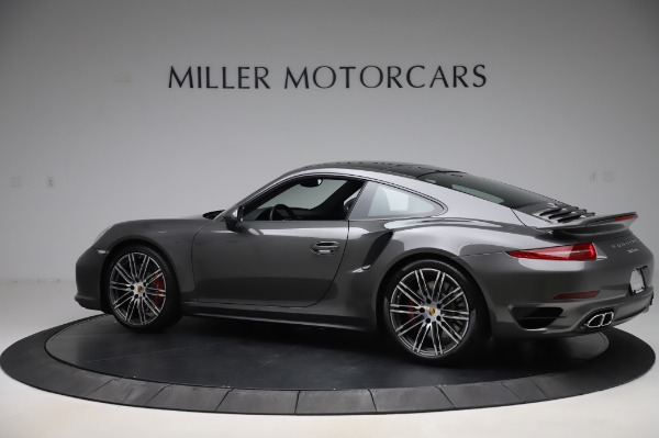 Used 2015 Porsche 911 Turbo for sale $123,900 at Aston Martin of Greenwich in Greenwich CT 06830 4