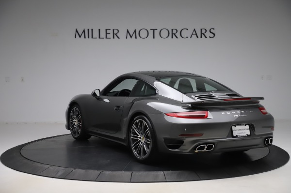Used 2015 Porsche 911 Turbo for sale $123,900 at Aston Martin of Greenwich in Greenwich CT 06830 5