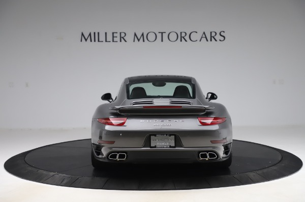 Used 2015 Porsche 911 Turbo for sale $123,900 at Aston Martin of Greenwich in Greenwich CT 06830 6