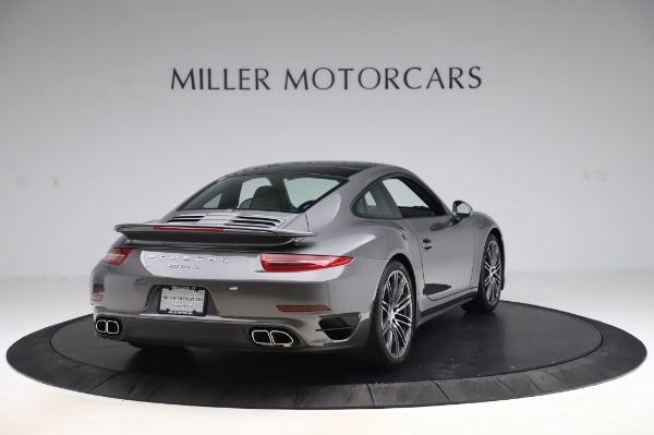 Used 2015 Porsche 911 Turbo for sale $123,900 at Aston Martin of Greenwich in Greenwich CT 06830 7