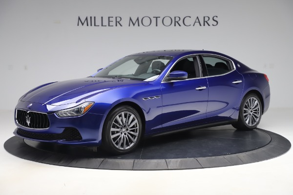 Used 2017 Maserati Ghibli S Q4 for sale Sold at Aston Martin of Greenwich in Greenwich CT 06830 2